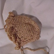 Vintage Crocheted Bonnet