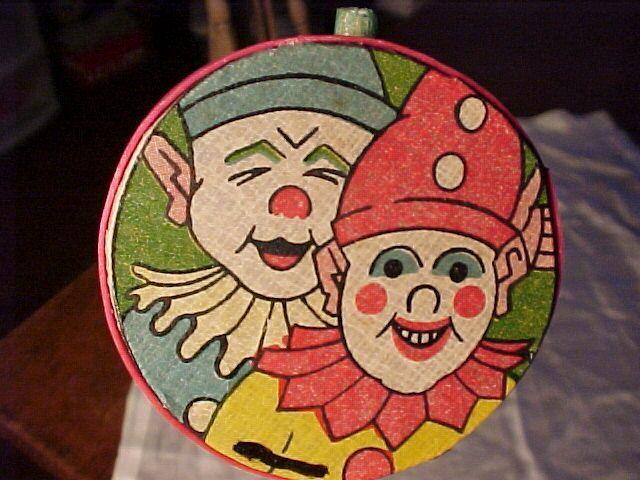 Art Deco Clown Noisemaker