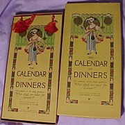 Calendar of Dinners by Volland