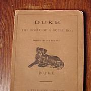 Duke The Story Of A Noble Dog