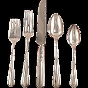Oneida Community Tudor Plate JUNE aka Nursery Place Settings Vintage 1932 ART DECO Silver Plate Silverware Flatware