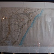 19th Century Hand-colored Map of Quebec from the Estate of Sir James McPherson Lemoine