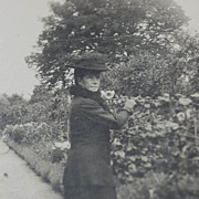 Early 20th Century Photograph of Maria Feodorovna, Mother of Nicholas II at Hvidore