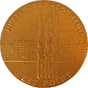 Vintage West Point Bronze Medal by Medallic Art Co.