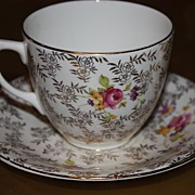 Vintage Regina English China Demitasse Cup Saucer Set