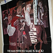 Vintage Movie Theatre Poster For a Few Dollars More Clint Eastwood Spaghetti Western