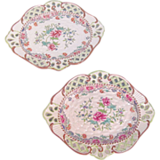 Pair Spode Trays circa 1800
