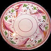 Pink Luster Bowl circa 1840