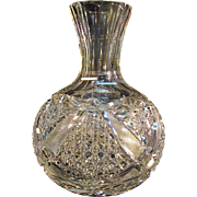 Cut Glass Carafe ca. 1900