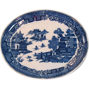 Oval Pearlware Tray ca. 1795-1805