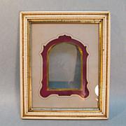 Victorian Frame with Gilt Edge Mat