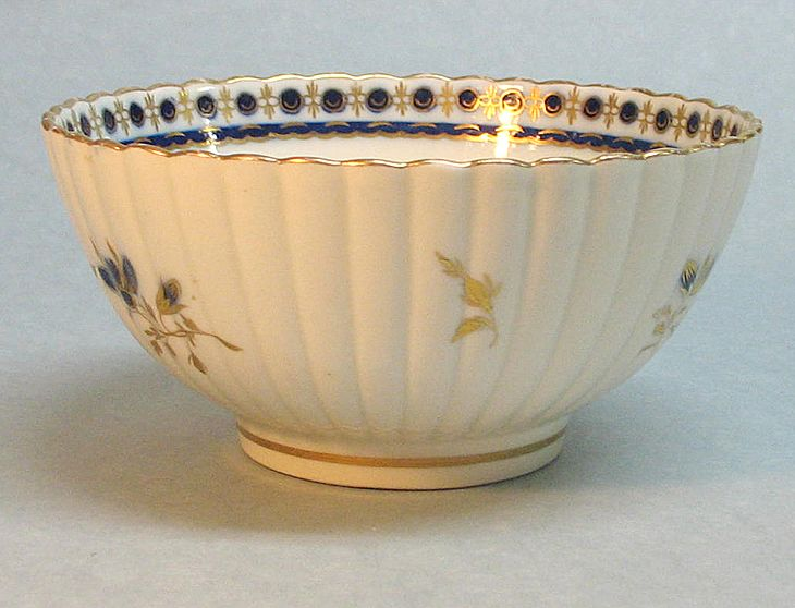 Salopian (Caughley) Bowl ca. 1795