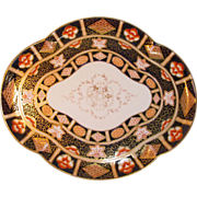 "English Porcelain Imari or ""Japan"" Pattern Tray"