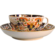 "Derby ""Japan"" Cup and Saucer early 19th century"
