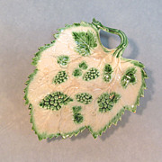 Pearlware Leaf Form Dish ca. 1790