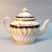 New Hall Porcelain Teapot ca. 1800