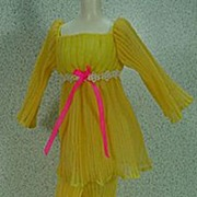 Mattel Barbie Outfit from 1970, Lemon Kick, Excellent and Complete.