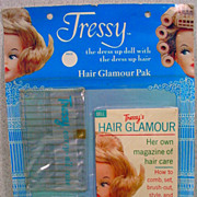 NRFC Tressy Hair Glamour Pak, American Character, 1960's