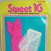 MOC Mattel Barbie Sweet 16 Outfit # 9557, 1976