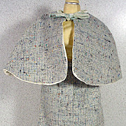 Vintage Wool Straight Suit for Madame Alexander Cissy Doll, 1950's