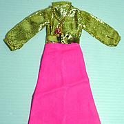 "1970's Maxi Mod 11 1/2"" Fashion Doll Outfit, M&S Shillman"