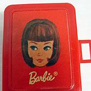 Mattel Miniature Barbie Doll Case, for Tutti's Let's Play Barbie, 1967