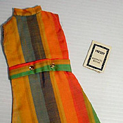 American Character Tressy Chit Chat Dress and Address Book, Excellent, 1965