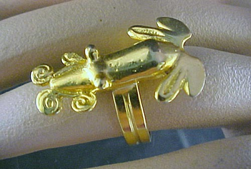 Artist Crafted- Studio, Figural Ring, 1970's
