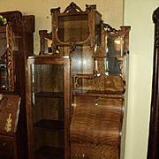 Quarter Sawn Oak Secretary/Bookcase/China Cabinet, ON SALE!