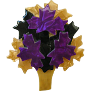 Maple Leaf Tree Pin By French Designer Lea Stein