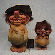 Lot of two Nyform Trolls