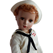 """SO RARE!!! Early 1950's Hard Plastic Madame Alexander Mary Martin from """"South Pacific"""" Doll 17"""" tall"""