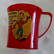 Howdy Doody Ovaltine Cup – USA 1950s