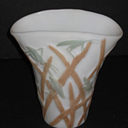 Consolidated Katydid Fan Vase