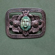 Egyptian Style Brooch