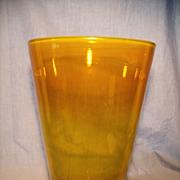 """Blenko #366L 12"""" Jonquil Vase"""