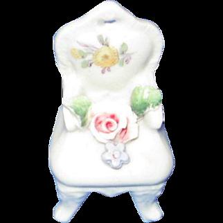 German Fairyware Miniature Chair
