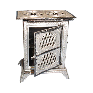 Metal Miniature Toy Stove c 1901