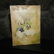 Animals Of the Bible 1937 Lathrop - First Caldecott Award ! Scarce !