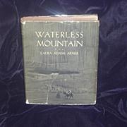 Waterless Mountain by Laura Adams Armer 1st 1931 DJ - 1932 Newbery Award winner