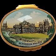 Halcyon Days enamel box Blenheim Palace