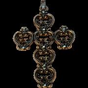 Danecraft sterling cross pendant