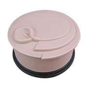Blush Pink and Black Jasperware Matte Porcelain Box