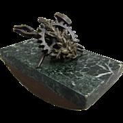 Vienna Bronze Rocker Blotter C 1900