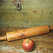 Granny's Gorgeous Old Farmhouse Wooden Rolling Pin