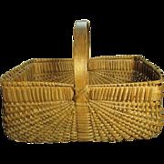 Grandma's Favorite Beautiful Old Gathering Basket