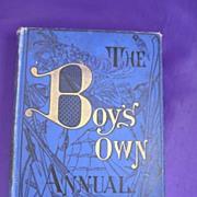 Boys Own Annual Volume XVI 1893-1894