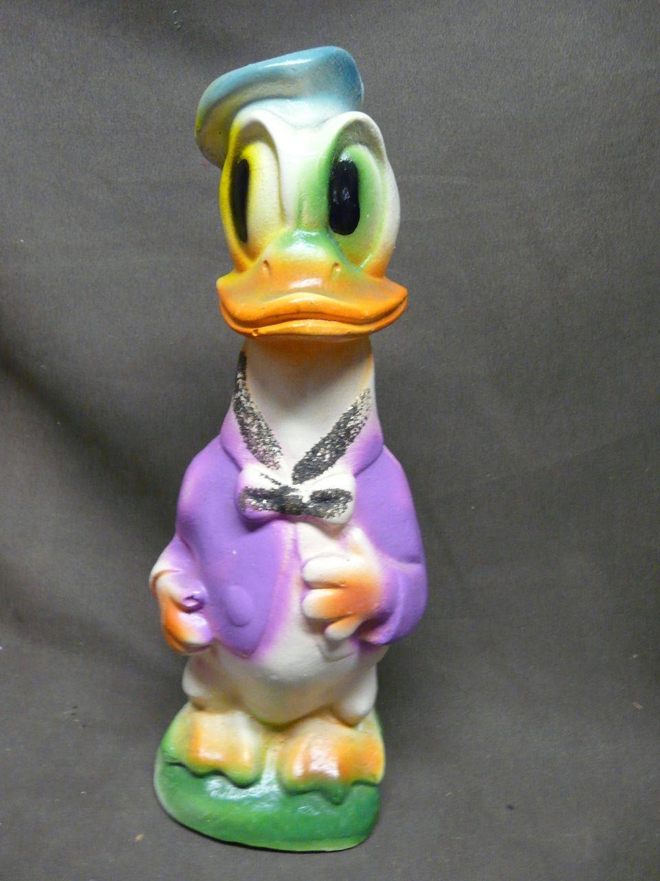 Vintage Chalk Donald Duck Figure