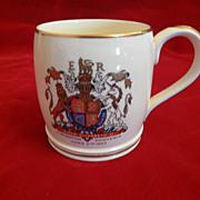 Myott & Son Queen Elizabeth II Coronation Mug