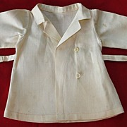 Original vintage Effanbee composition doll  jacket with matching hat